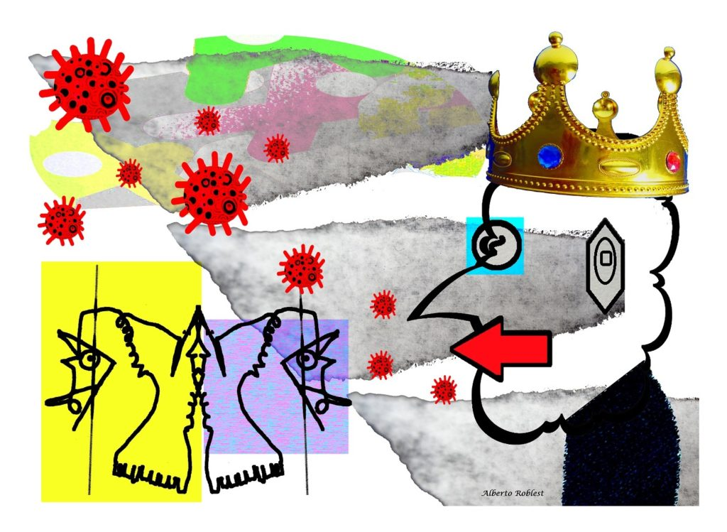 The infectious King III. Covid Series